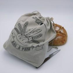 Sac à pain sérigraphié