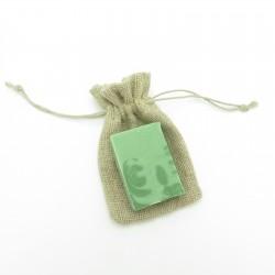 Pochette à savon en chanvre